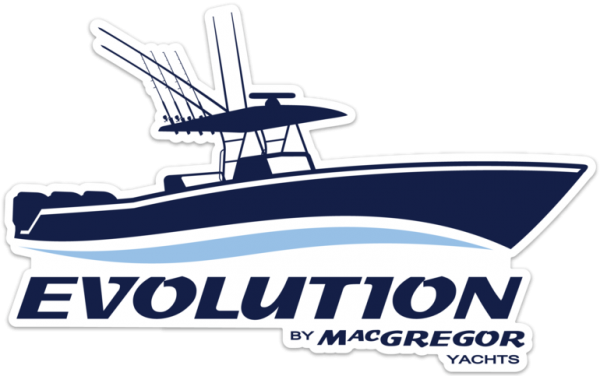 Evolution by Macgregor Yachts Decal